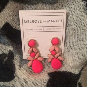 Melrose and Market Hot Pink Earrings - New